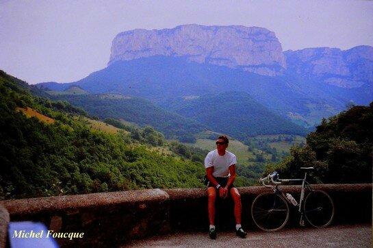 332) parcours vélo route des petits et grands Goulets (Vercors)