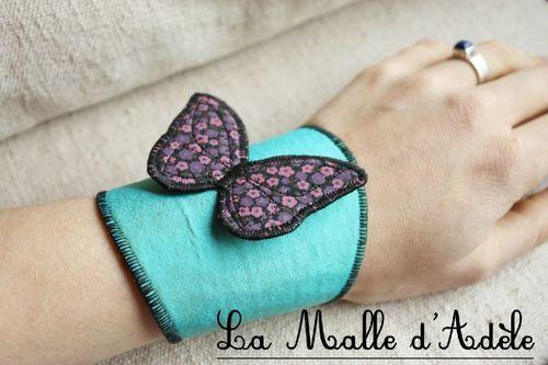 Manchon papillon 02
