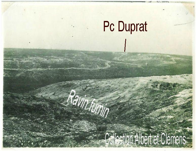 ravin fumin et pc de murat 1917