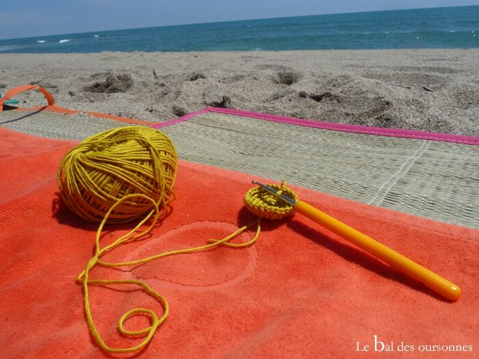 52 Crochet sur la plage Natura DMC