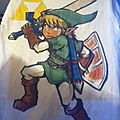 T-SHIRT LEGEND OF ZELDA