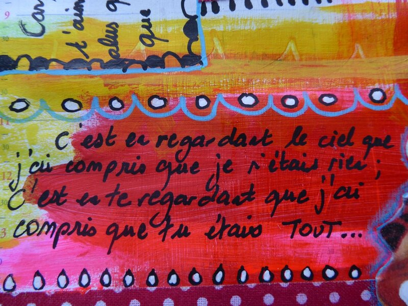 art journal love to love les mots