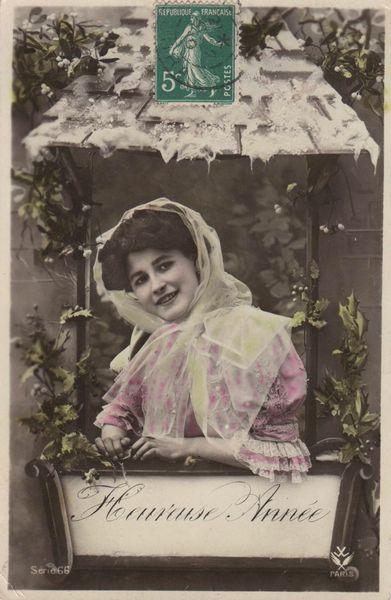 bonne année 1910