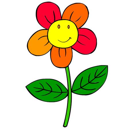 Dessin Fleur Couleur
