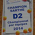 CHAMPIONS D2 2014 !!!