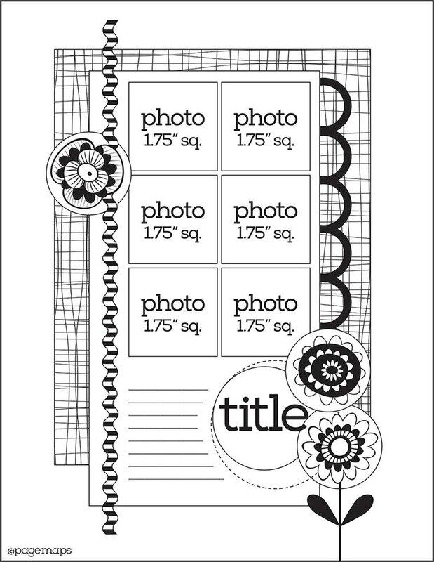 5c5dd67b70e9c5b916607f23f585d505--scrapbook-templates-scrapbook-sketches