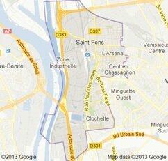 st-Fons : Commune Grand-Lyonnaise de la Rive-Gauche du Rhône