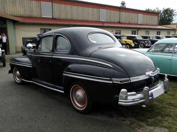 mercury eight coupe sedan 1947 1948 b