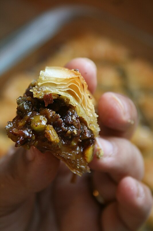 Baklawa à la pistache Passion culinaire Minouchka 3