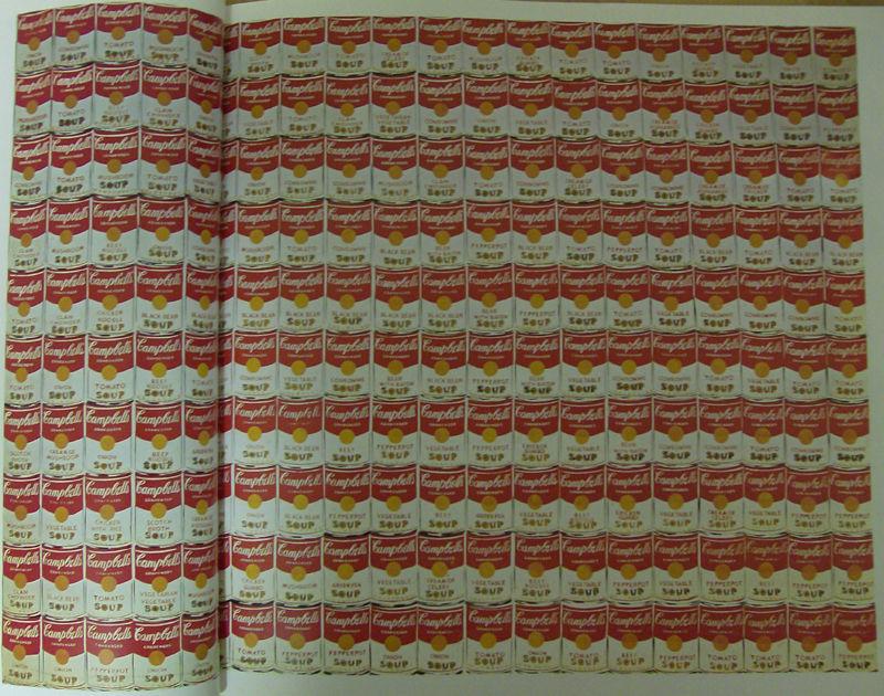 Andy Warold, 200 boîte de soupe Campbell, 1962