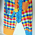 Un pantalon pour faire le clown !