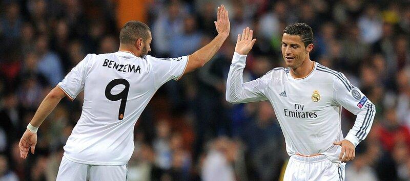 Cristiano Ronaldo,Benzema
