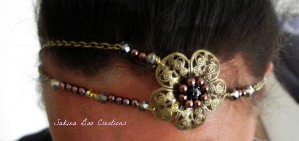 hairband fleur