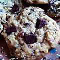 Les Cookies 2 Choconoisettes de Bianca