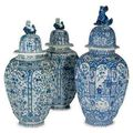 Dutch delft blue and white from the property of a distinguished private collector @ christie's new york