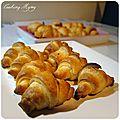 Ronde interblog #24: petits croissants au saumon