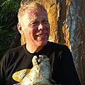 Larry MC LAUGHLIN et sa sculpture Cochon