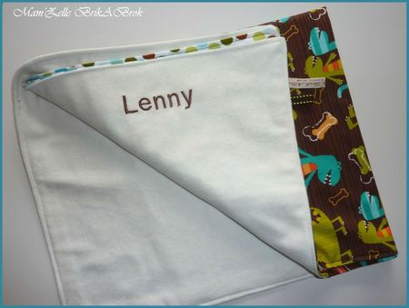 Couverture LENNY Broderie