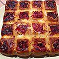 Cake au chorizo et au fromage basque