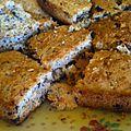 Gâteau cookies géant sans gluten, sans lactose
