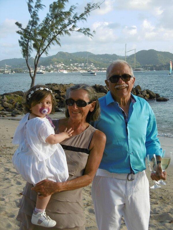 Philippe Nicole et Lana jour du mariage