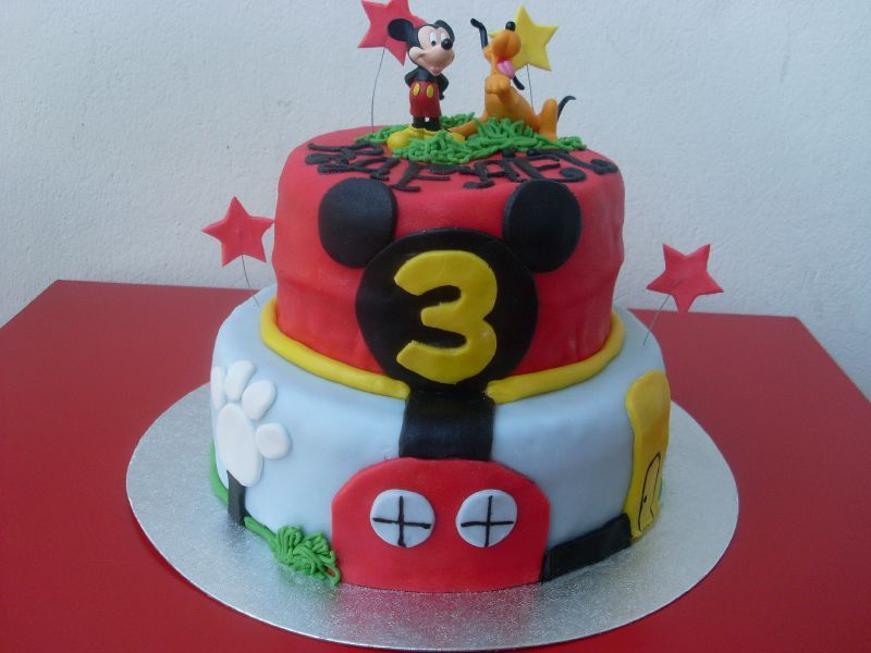 Wedding Cake Mickey Anniversaire