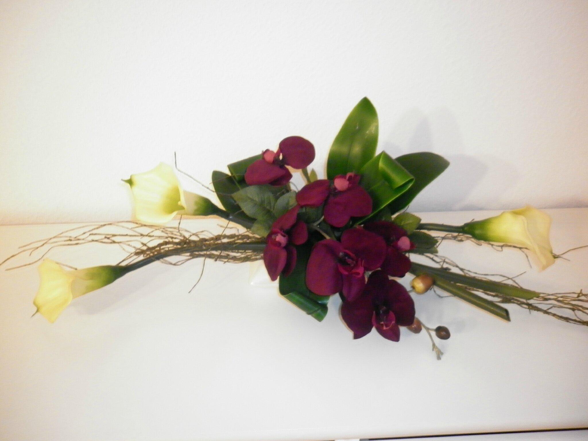 composition florale divers supports les cr ations d co de marsouille. Black Bedroom Furniture Sets. Home Design Ideas