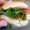 *hot dog banh mi*