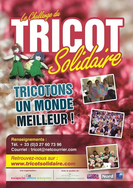 Affiche Tricot Solidaire 2013 br 2