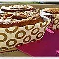 Petits cakes au pain d'épices