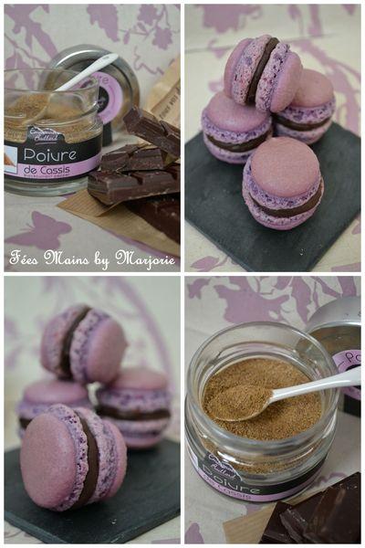 Macarons chocolat & poivre de cassis1