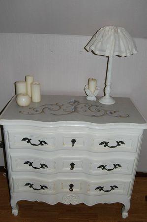 commode arbal te fin meubles peints et compagnie. Black Bedroom Furniture Sets. Home Design Ideas