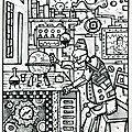 L' astronome (d'après vermeer)