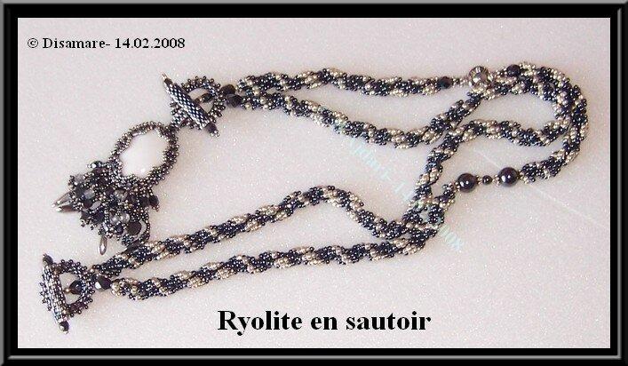Ryolite - sautoir