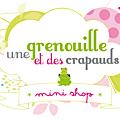 L'ouverture du mini shop d'une grenouille et des crapauds et le 2e anniblog (concours inside) !