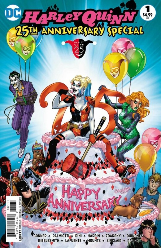 harley quinn 25th anniversary special