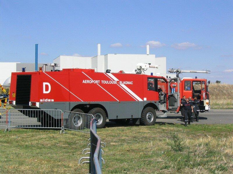 Les pompiers de l 39 a roport toulouse blagnac la passion de l 39 aviation - Aeroport blagnac adresse ...