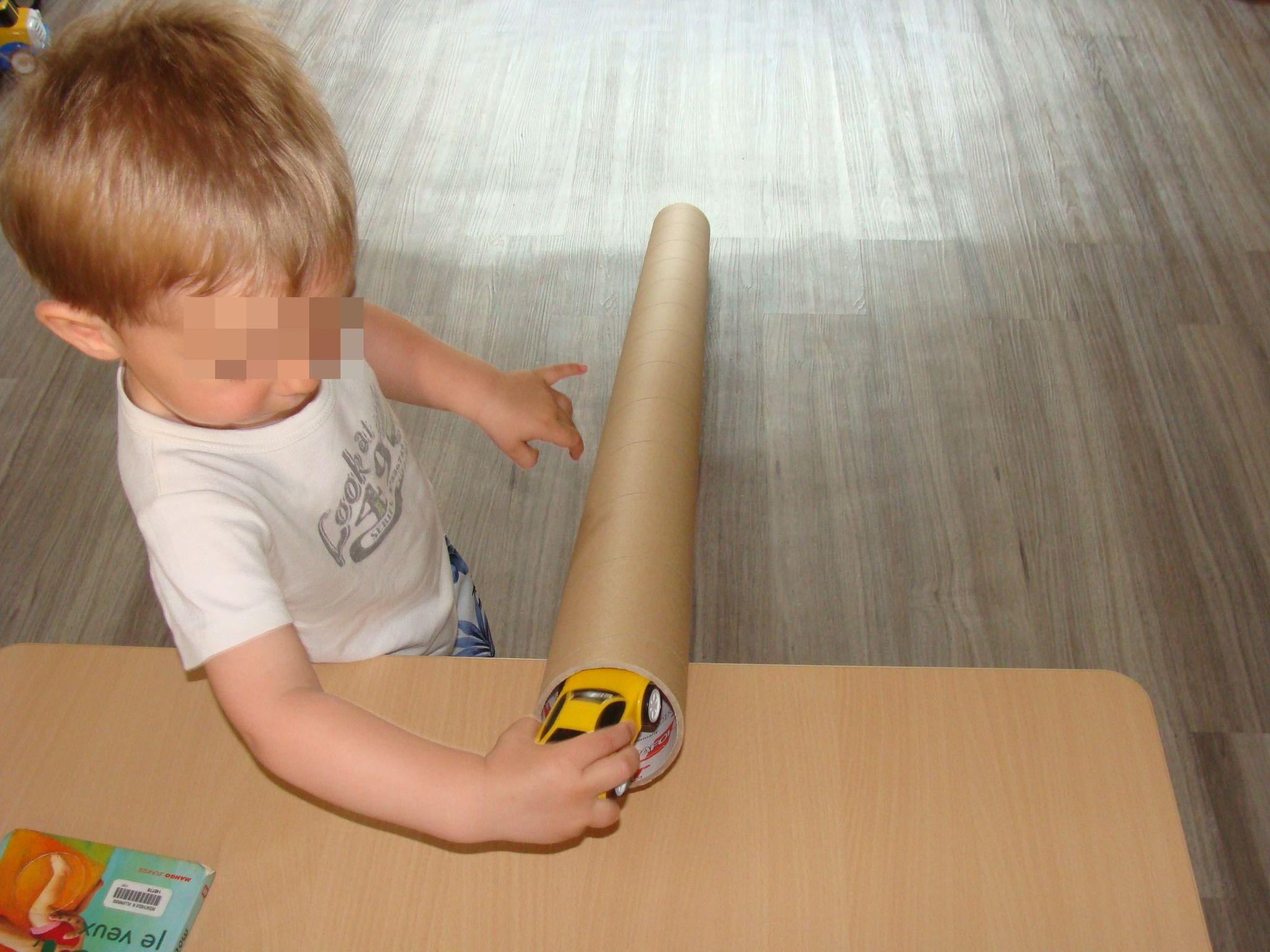 Hervorragend Avec un gros tube en carton. - ribambelles TJ88