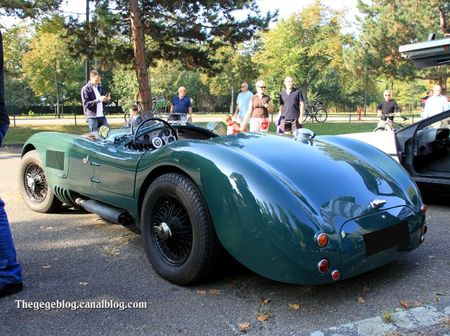 Jaguar type C roadster (Retrorencard octobre 2011) 02