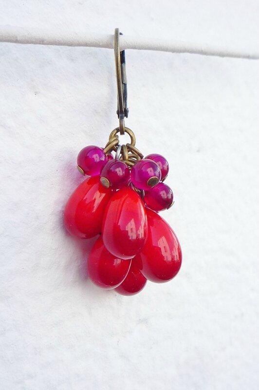 Bo 02 5 perles rouge