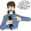 Les méfaits du chat...