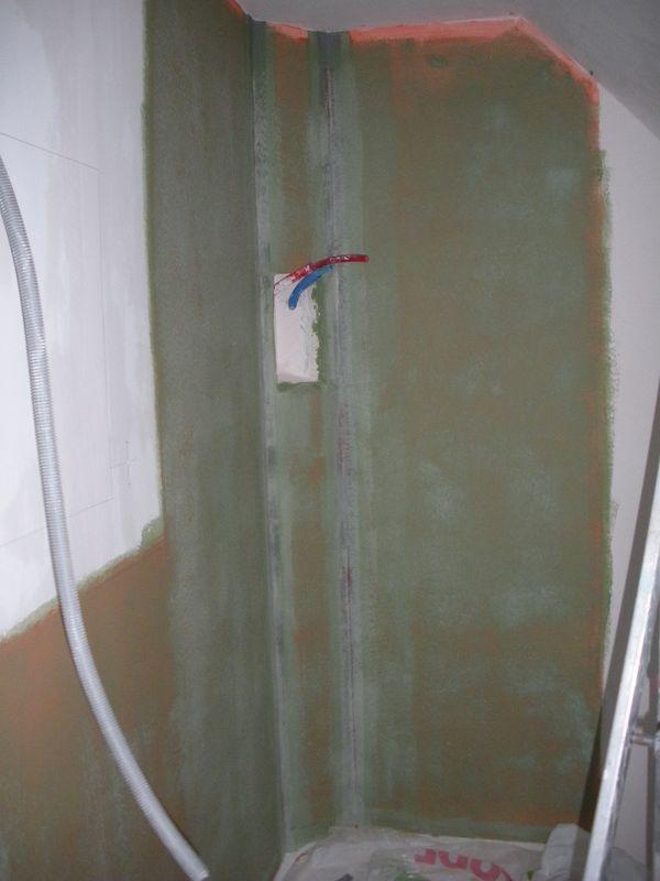 mur briques de verre notre blog l 39 avancement de notre maison castor evin malmaison dans. Black Bedroom Furniture Sets. Home Design Ideas