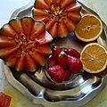 fraises melon