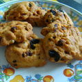 Cookies aux tomates sechees