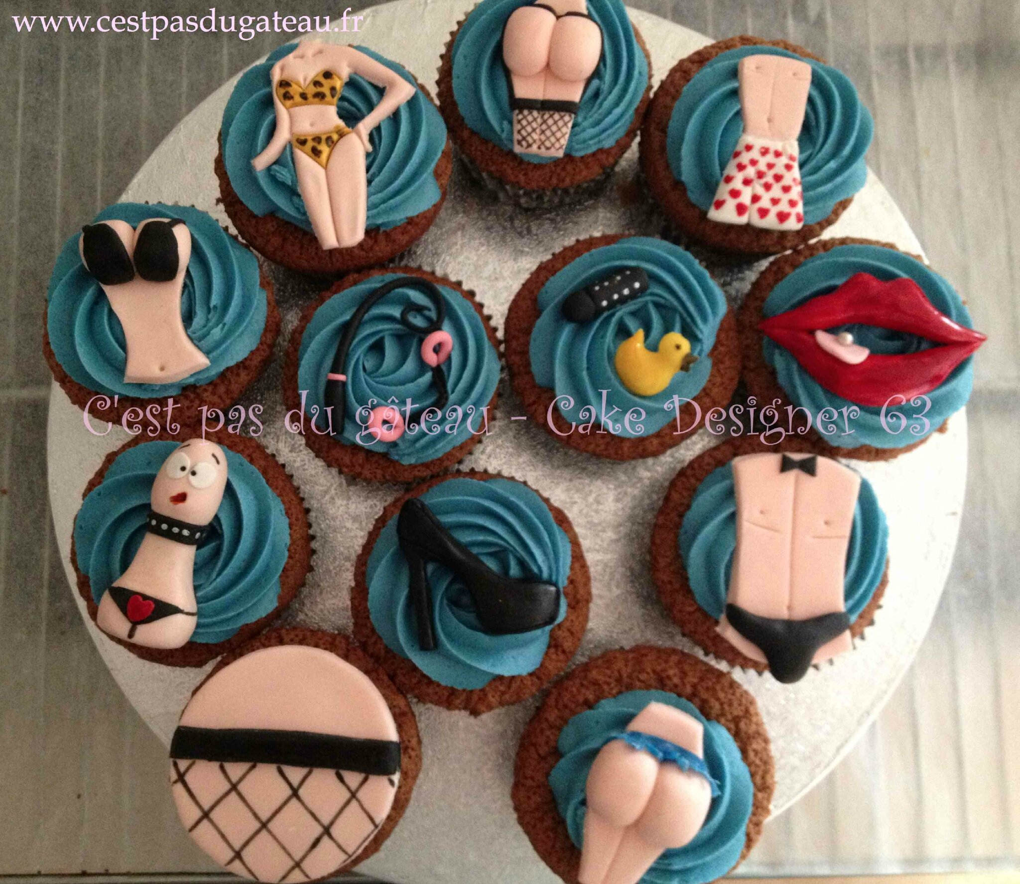 Cupcakes sex toys