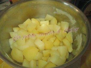 Cuisse de poulet thym, romarin et sa purée safranée13