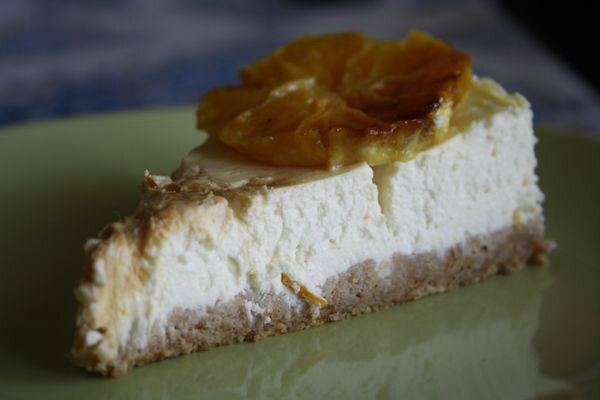 Cheesecake orange cannelle de Gordon Ramsay