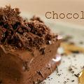 Fondant au chocolat et thé