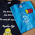 T-shirts selon leurs désirs