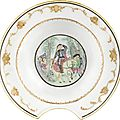 A chinese export porcelain famille rose